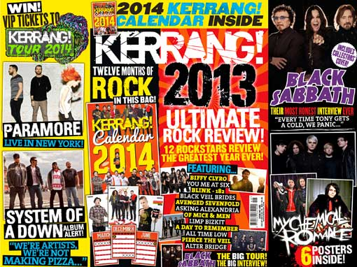 My Chemical Romance Poster Special In Kerrang! Magazine