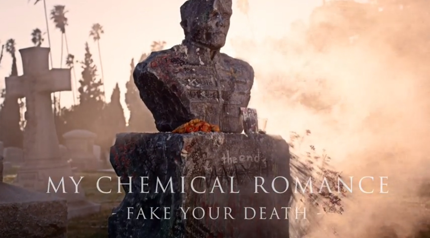 "My Chemical Romance Release Final Track, ""Fake Your Death"""