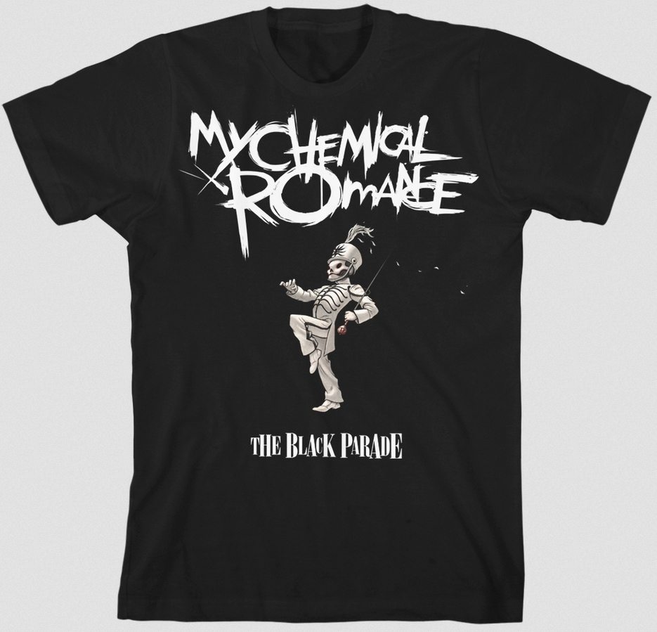 The Black Parade T-Shirt In HMV Stores